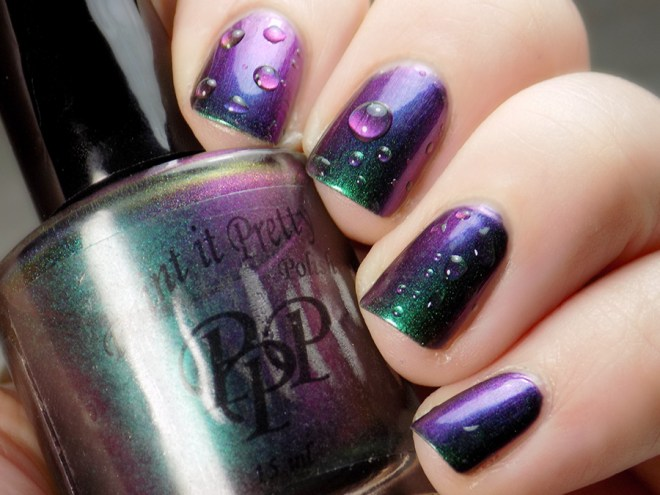Paint it Pretty Polish Enchanted - Multichrome Shift - Purple Green and Blue