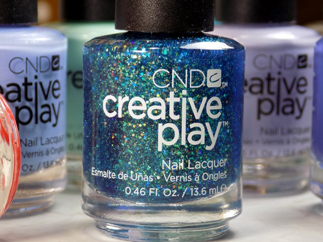 CND Creative Play Express Ur Em-oceans from Sunset Bash Collection - Bottle Shot