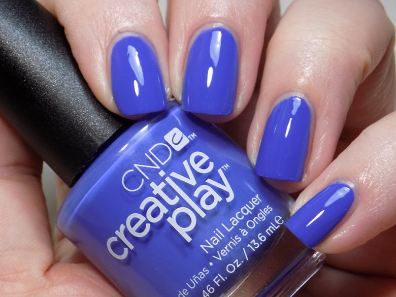 CND Creative Play Party Royally from Sunset Bash Collection - Swatch - Artificial Light