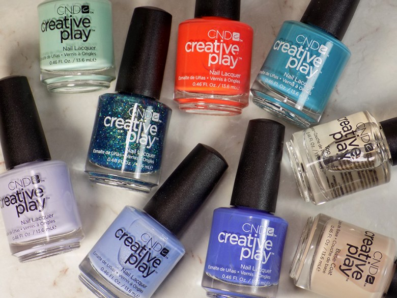 CND Creative Play Sunset Bash - All Polishes