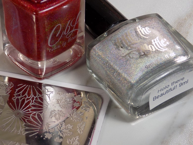 Colors by LLarowe Oh Canada - Hit The Bottle Holo There Beautiful - Canada Day Nails - Products Used