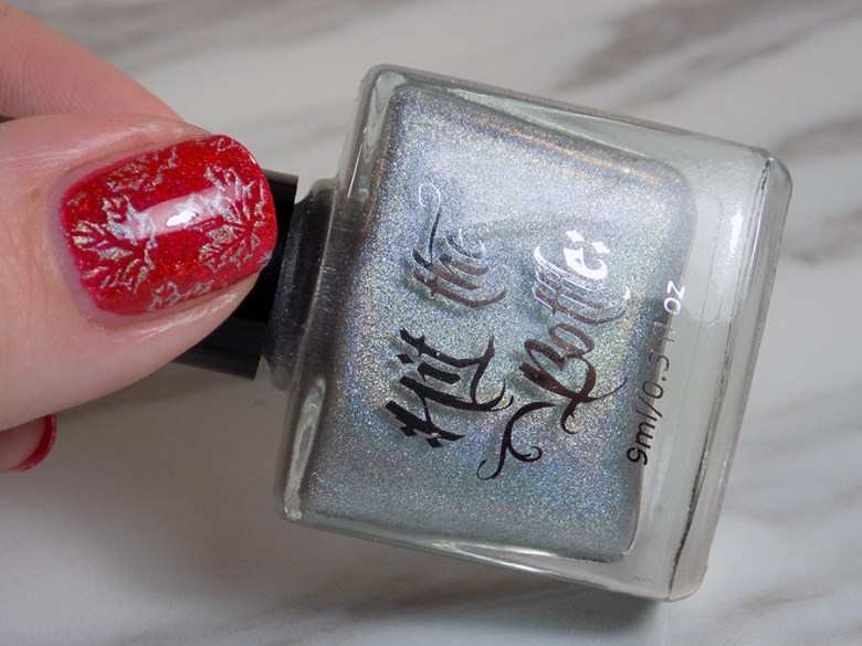 Colors by LLarowe Oh Canada - Hit The Bottle Holo There Beautiful - Canada Day Nails