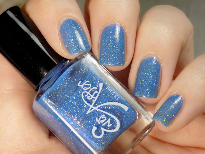 Ever After Polish Diamonds Are Forever Swatch Artificial Light - Indie Expo Canada Limited Edition VIP Polish