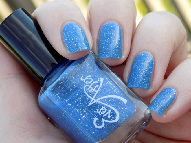 Ever After Polish Diamonds Are Forever Swatch Cloudy Sunlight - Indie Expo Canada Limited Edition VIP Polish