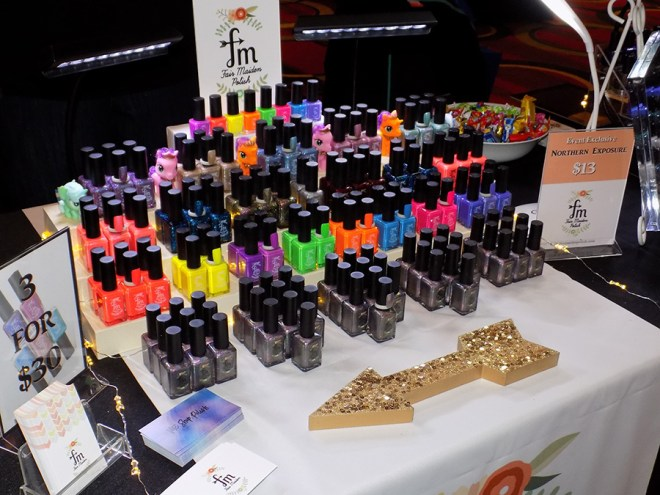 Fair Maiden Polish at Indie expo Canada