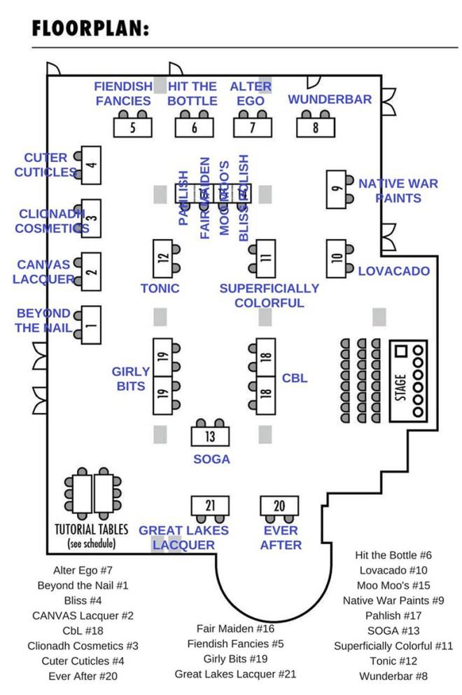 Indie Expo Canada Floor Plan