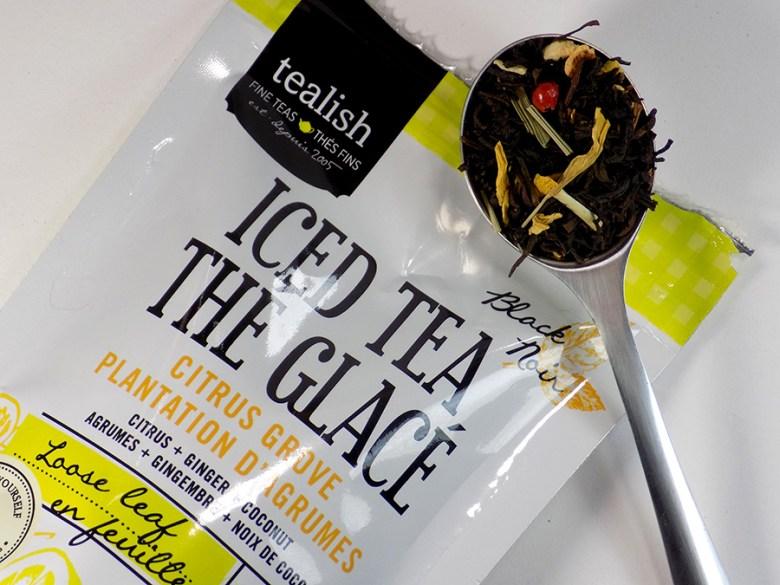 Tealish Citrus Grove Iced Tea Loose Tea with Packaging
