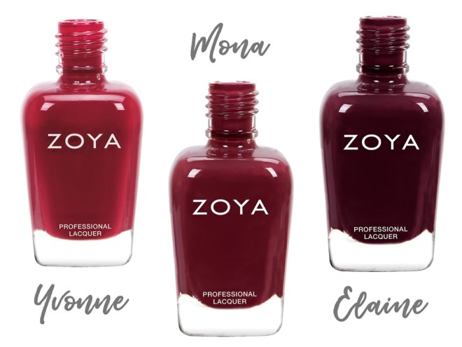 Zoya Sophisticates Yvonne - Mona - Elaine