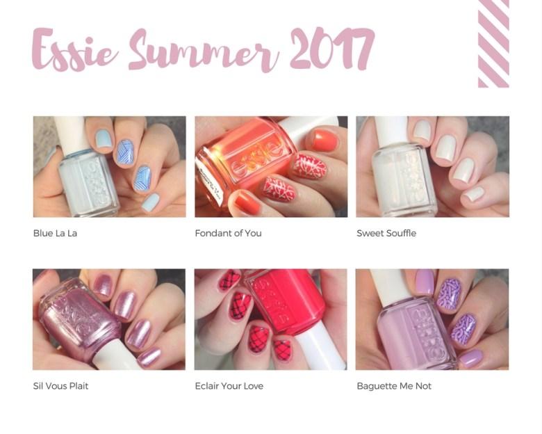 Essie Summer 2017 Collection - All Shades