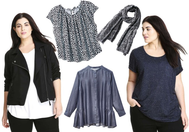 Joe Fresh Extended Sizes and Plus Sizes 2017 Fall Release Collection