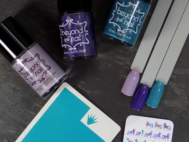 Beyond The Nail Unicorn Nails - supplies