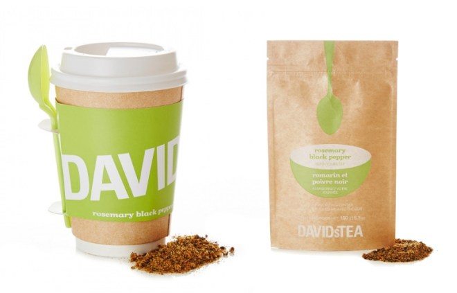 DAVIDsTEA Soup Teas Rosemary Black Pepper