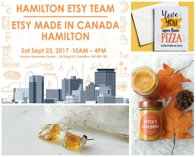 Hamilton Etsy Made in Canada Vendors Makers