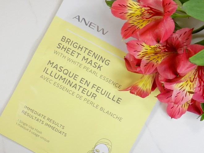 Avon A Box Fresh and Clean Fall 2017 - Avon Anew Brightening Sheet Mask