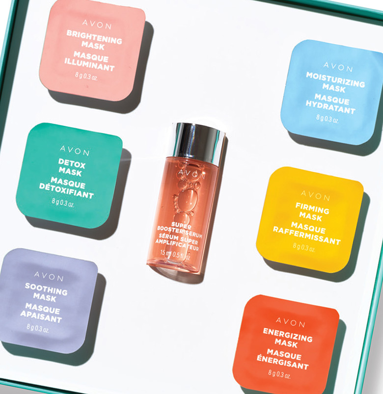 Avon Face Masks Beauty Boost