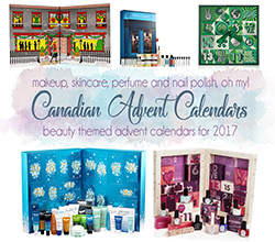 Canadian Beauty Advent Calendars 2017