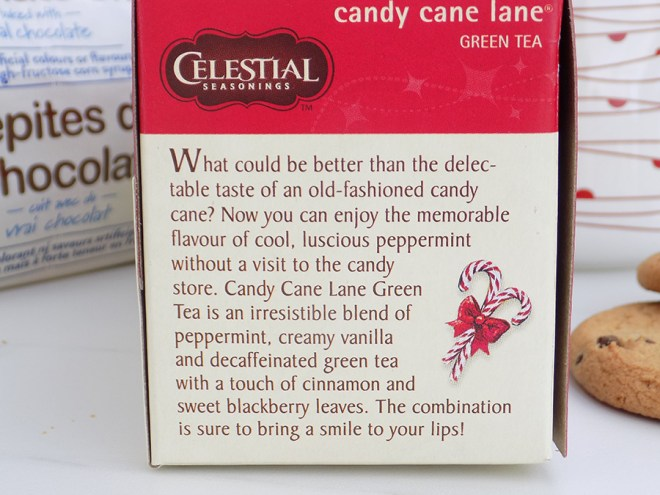 Celestial Seasonings Candy Cane Lane Holiday Tea Review - About Candy Cane Lane Tea