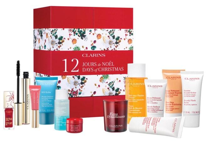 Clarins 12 Days of Christmas Beauty Advent Calendar
