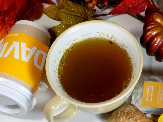 DAVIDsTEA Spicy Rasam Soup Tea Review - Cup of Spicy Rasam Soup