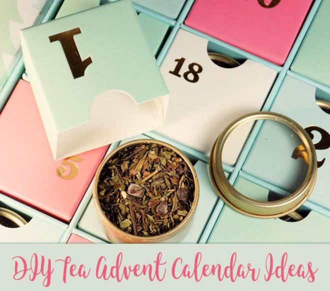 DIY Tea Advent Calendar Canada - Where To Buy Tea Samples Canada - Advent Calendar Kits