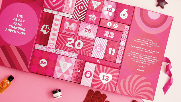 The Body Shop Advent Calendar: The Body Shop 2017 Beauty Advent Calendar - 25 Days of Beauty Deluxe Calendar