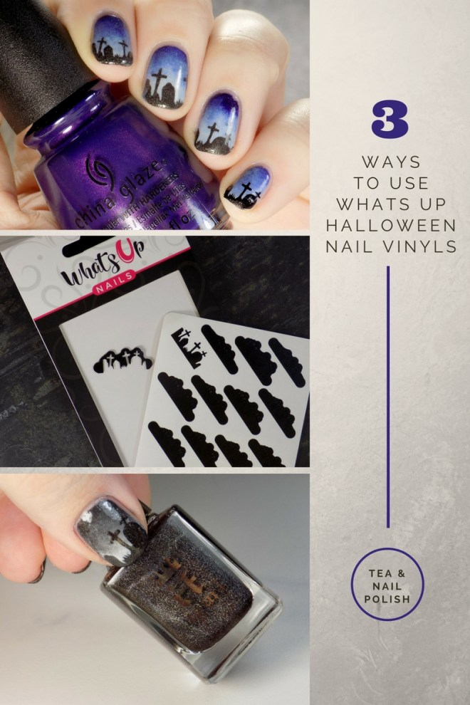 Whats Up Graveyard Nail Stencils Nail Art - Nail Polish Canada - 3 Ways To Apply Vinyls PIN