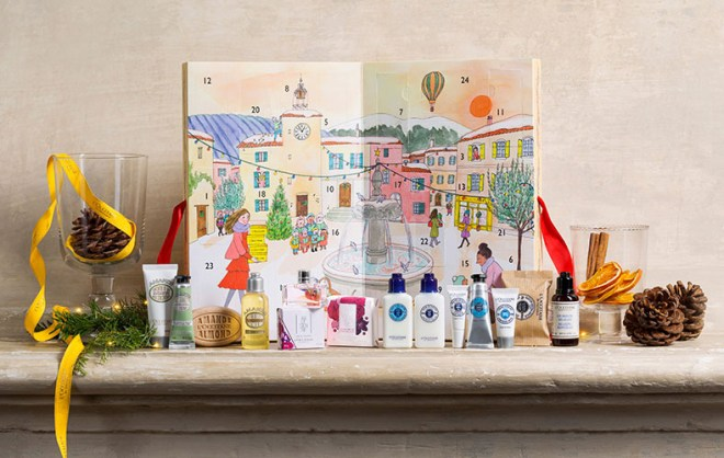 l'occitane advent calendar canada 2017