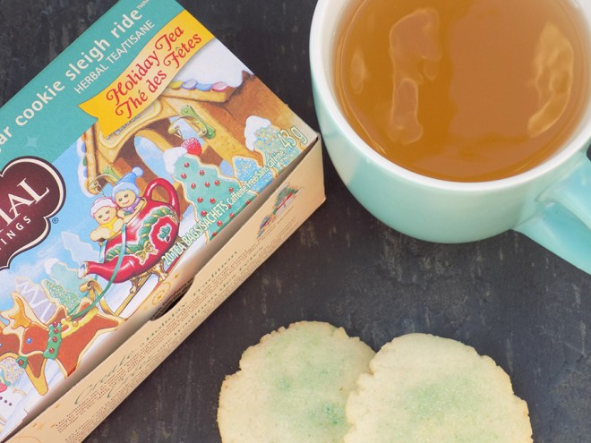 Celestial Seasonings Sugar Cookie Sleigh Ride Tea Review