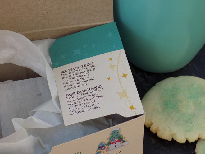 Celestial Seasonings Sugar Cookie Sleigh Ride Tea - Steeping Instructions