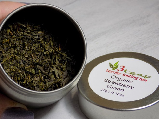 Craftadian Mississauga Holiday Market 2017 - 3 Teas Strawberry Green Tea