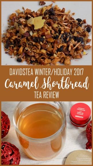 DAVIDsTEA Caramel Shortbread Tea 2017 Review