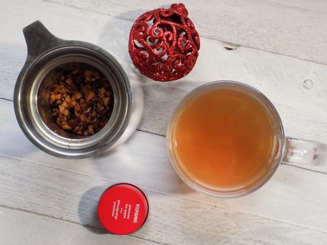 DAVIDsTEA Caramel Shortbread Tea Reviews - Holiday 2017 Tea Davids Tea