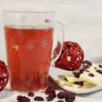 DAVIDsTEA White Cranberry Bark Tea Review & White Chocolate Cranberry Bark Recipe