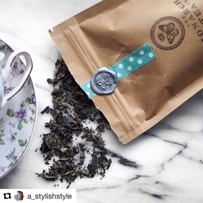 Monarch Tea Co Packaging