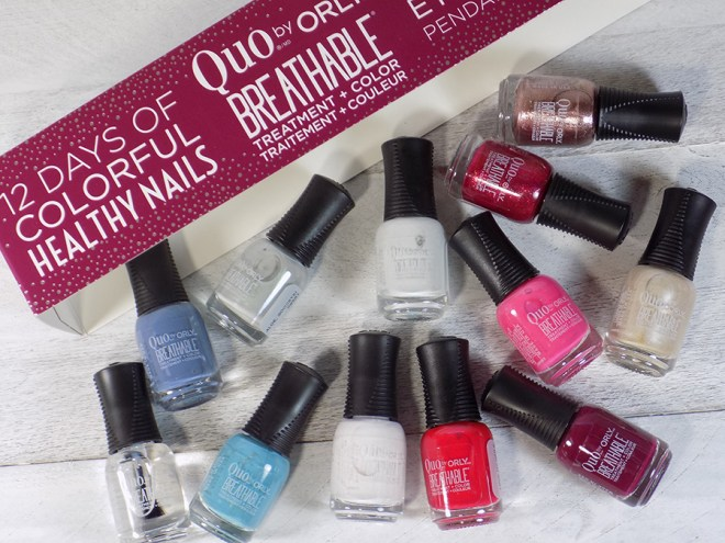 Quo by Orly Breathable 12 Days of Colorful Nails Spoilers - All Polishes