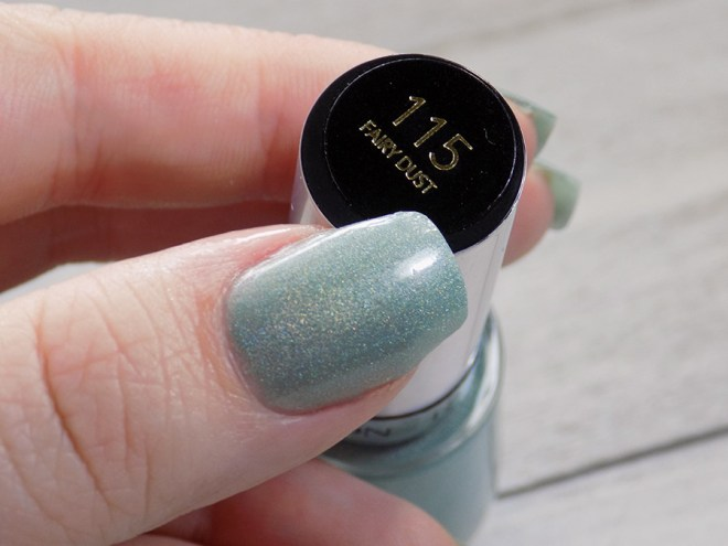 Revlon Fairy Dust HoloChrome Polishes Swatch Thumb with Bottle