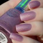Revlon Galactic Pink (Holographic) Swatches and Review