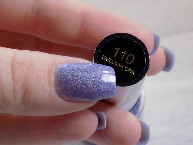 Revlon Unicornicopia HoloChrome Polishes Swatch - Bottle Name