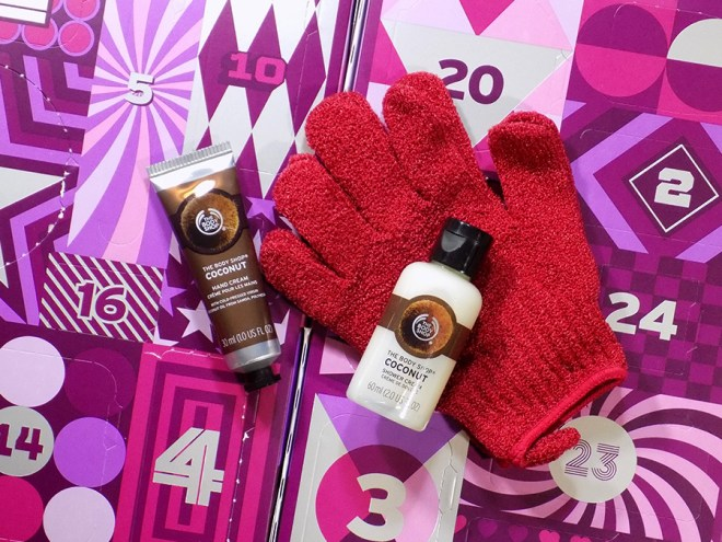 The Body Shop Advent Calendar 2017 Details