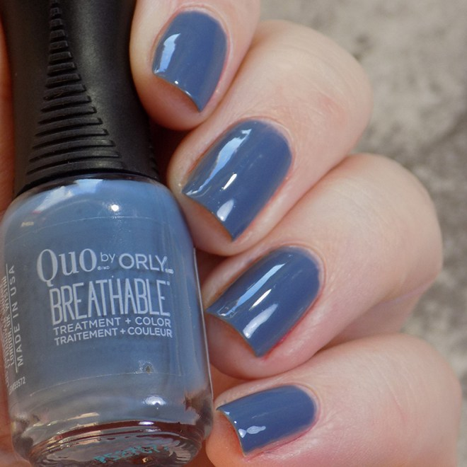 Quo by Orly Breathable DeStressed Denim - Day 3