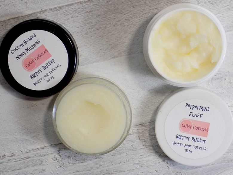 Cuter Cuticles Gladvent Christmas 2017 Faves - Barrier Butter Review