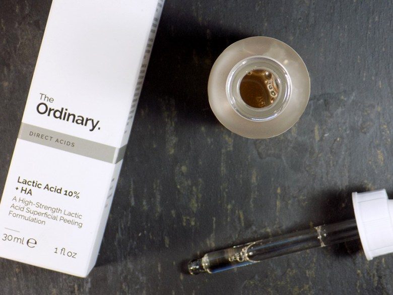 Deciem The Ordinary Lactic Acid 10% HA - How To Apply and Use Lactic Acid