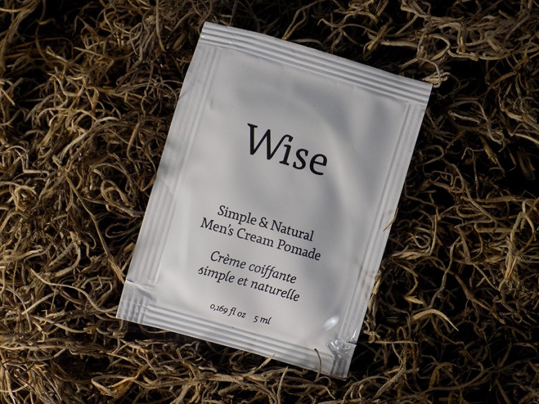 Wise Men's Hair Care Review - Men's Cream Pomade Review