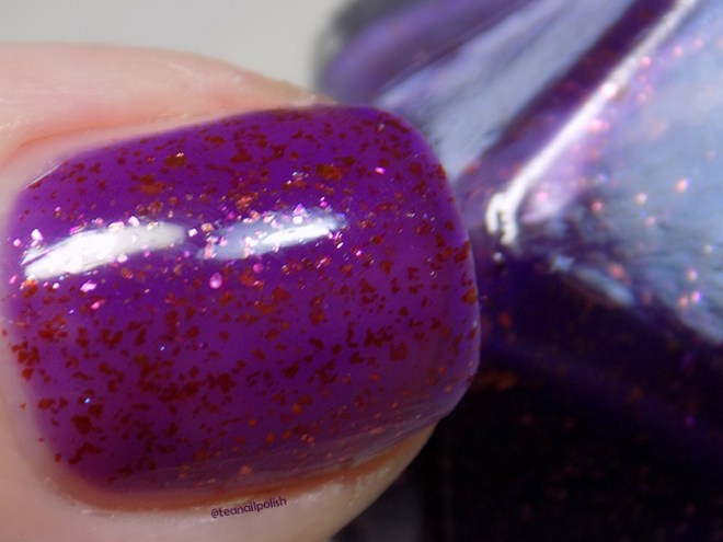 Alter Ego Poised Heroine - Indie Expo Canada VIP Exclusive Polish Macro