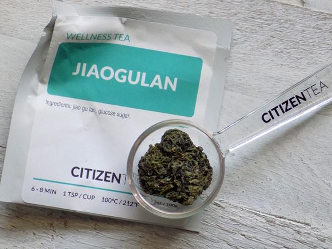 Citizen Tea Jiaogulan Ball Tea Review