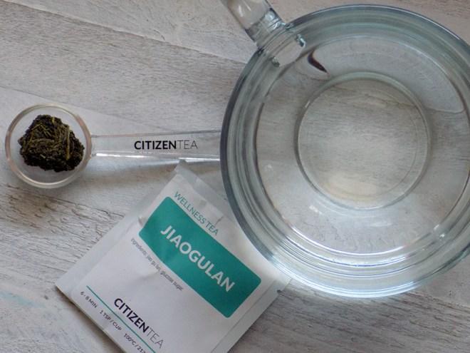 Citizen Tea Jiaogulan Tea Review - Jiaogulan Ball Size