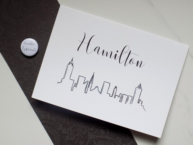 Craftadian Hamilton Cards