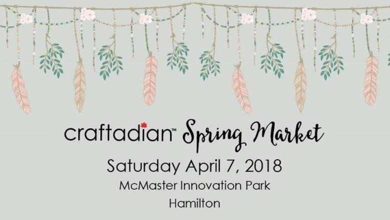 Craftadian Made By Hand Show April 2018 Hamilton