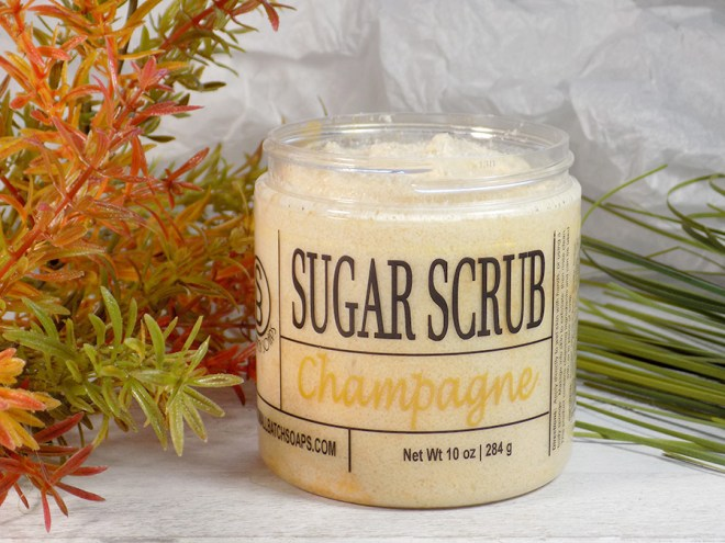 Craftadian Mississauga Spring 2018 - Small Batch Soaps Sugar Scrub Review