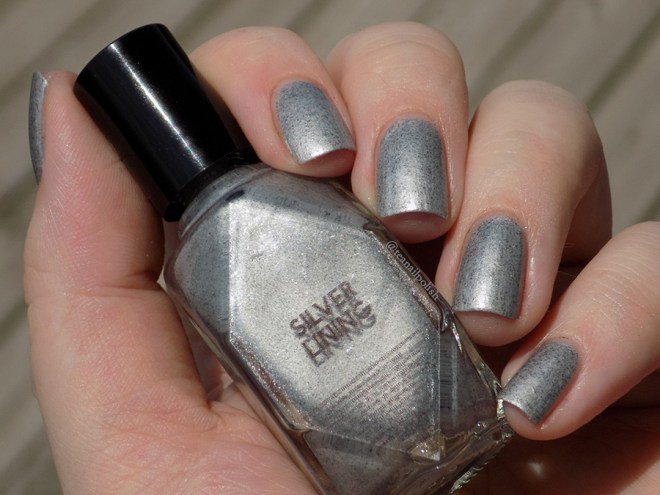 Alter Ego Fan Faves - Silver Lining - Swatch in Sunlight